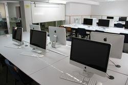 Foto de uno de los laboratorios . Pincha aquí para ampliar la imagen